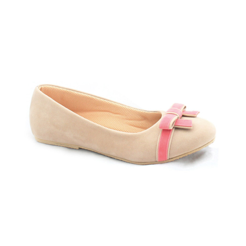 Alivelovearts Flat Shoes Berre Cream