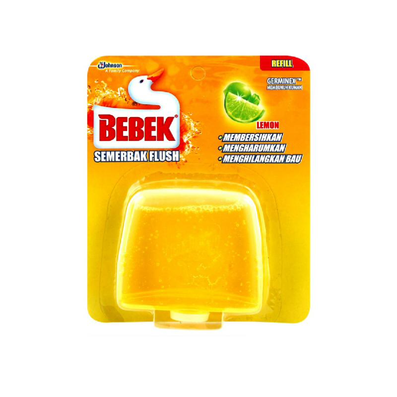 Bebek Semerbak Flush Lemon Refill 50Ml