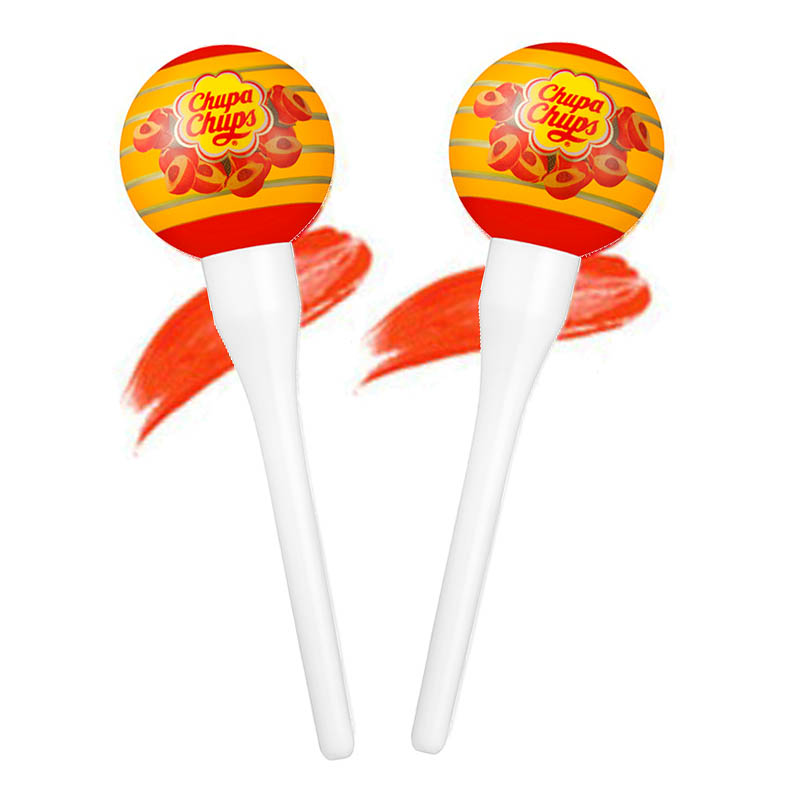 Chupa Chups Lip Locker Peach 7g (2pcs)