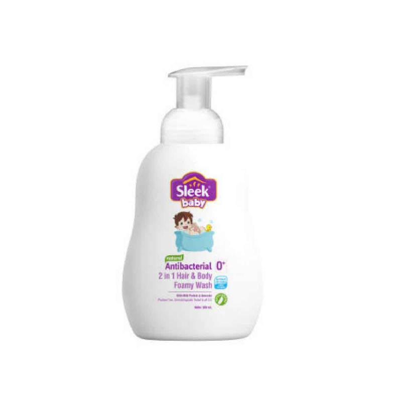 Sleek Baby Antibact 2In1 Hair & Body 300Ml