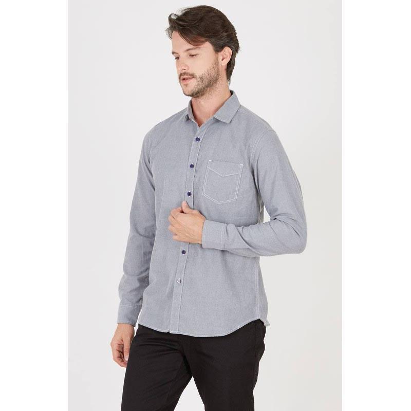 Men Calvin Grey Shirt