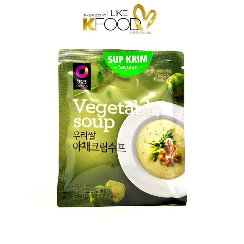 Chung Jung Won Daesang Instant Soup Vegetable 60 Gr