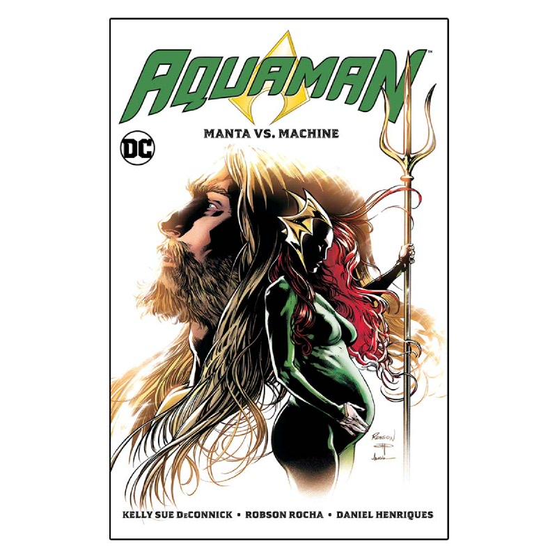 Aquaman Vol. 3 (Manta vs. Machine)