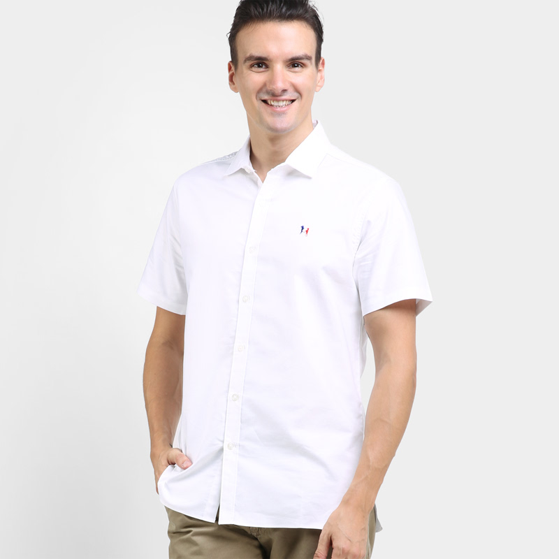 Sora Short-Sleeve Shirt White