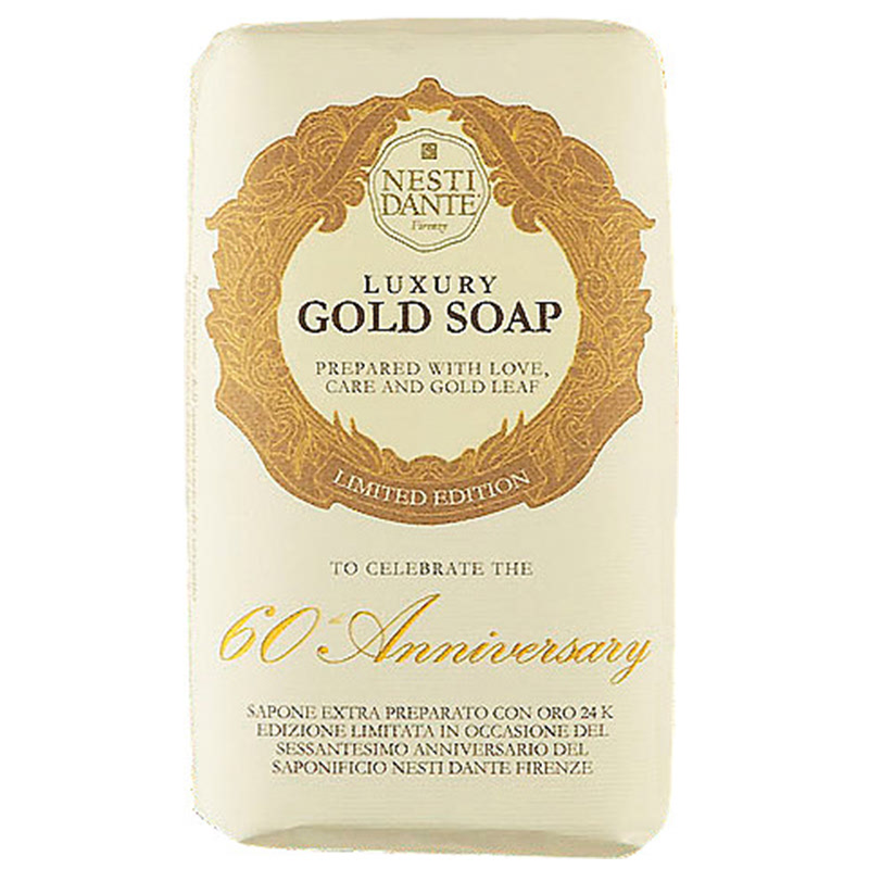 60th Annivesary Gold Soap