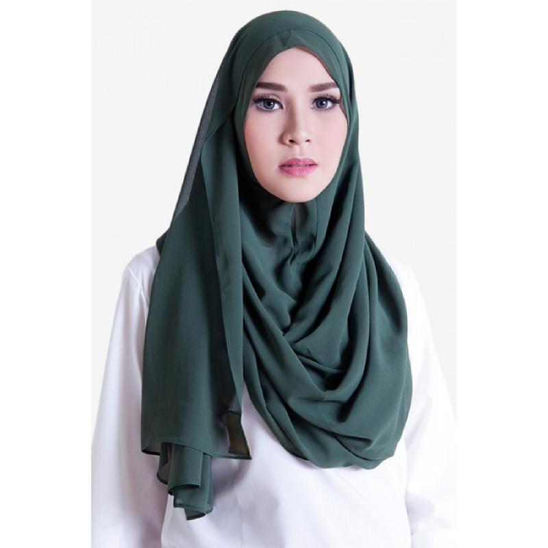 BIA by Zaskia Mecca Kerudung Sifon Amara Hijau S4