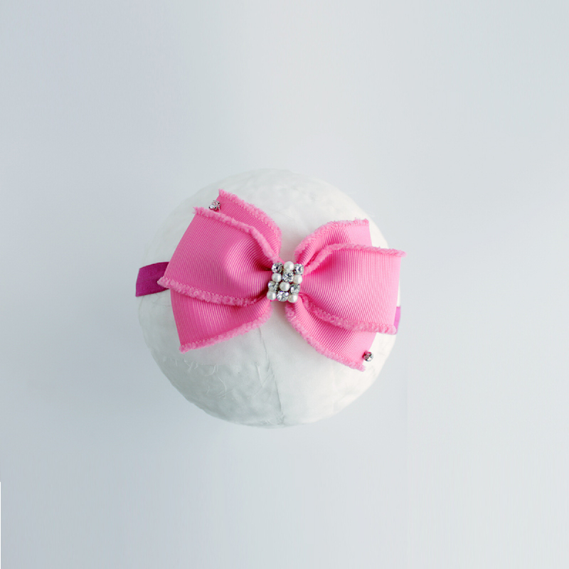 Baby Sequoia Aria Bow Hot Pink