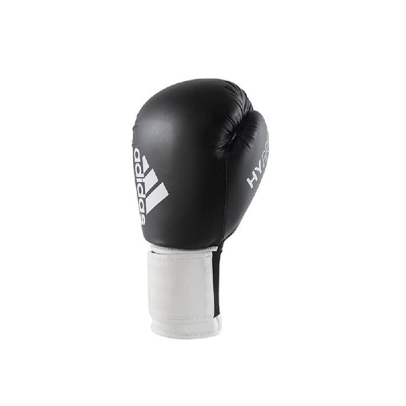 Adidas Combat Hybrid Boxing Glove 100 Black White