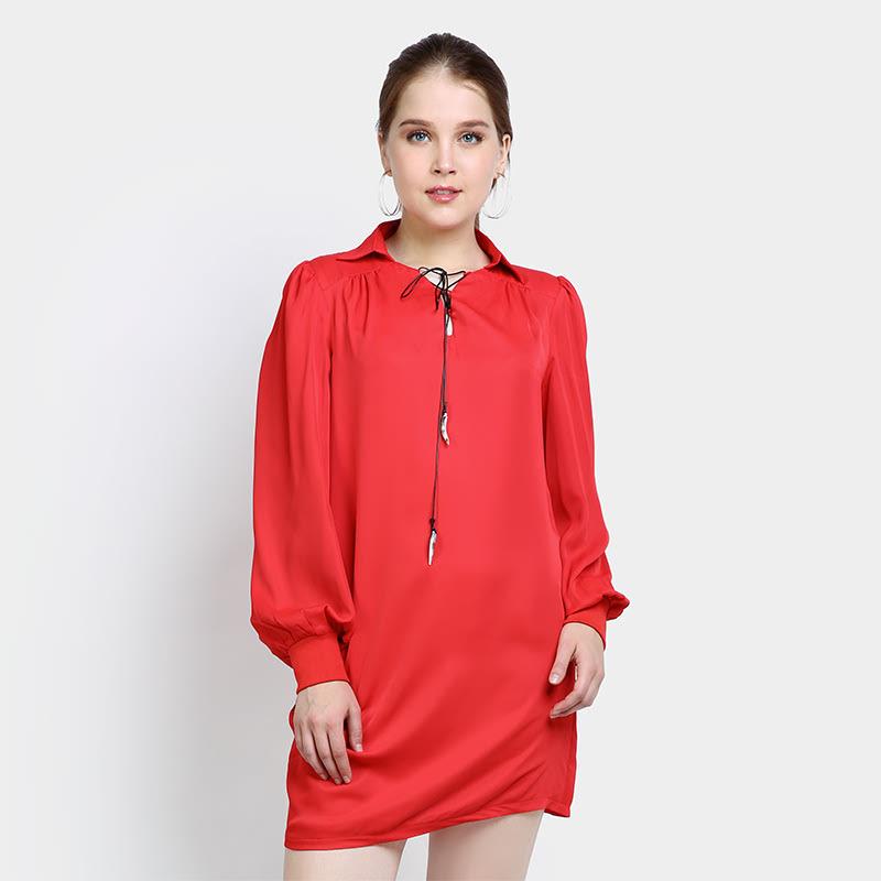 Elle LTG-1-90003B Red Dress