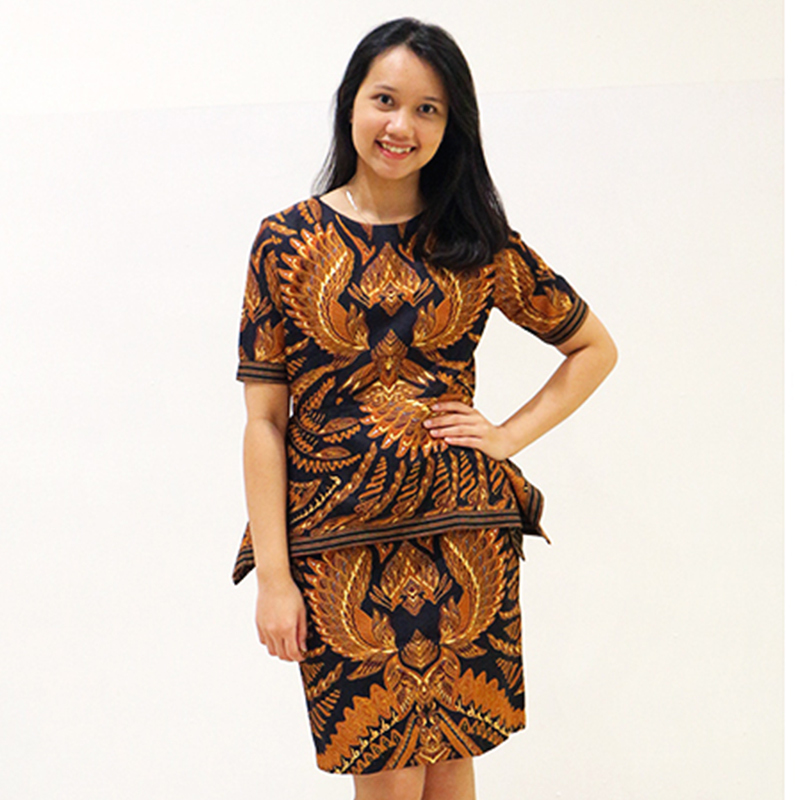 Batik Semar Alexa Dress (Size M,L)