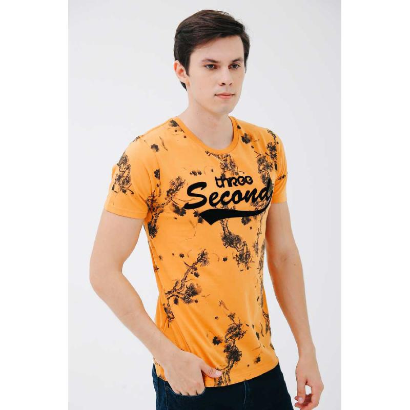 3Second Men Tshirt 8701.Yellow