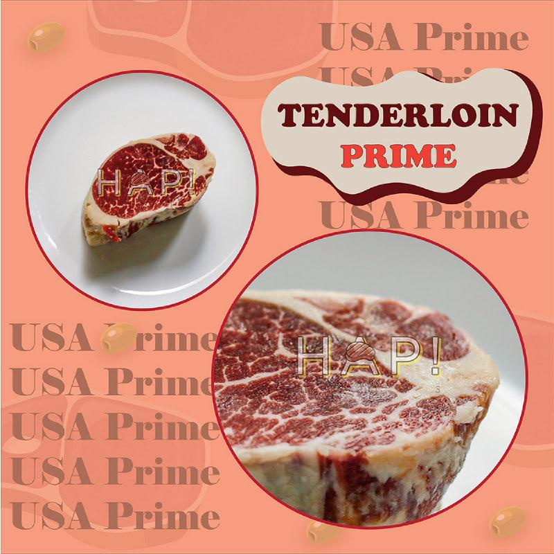 HAP! Meats Tenderloin USA Prime Steak Cut 250gr