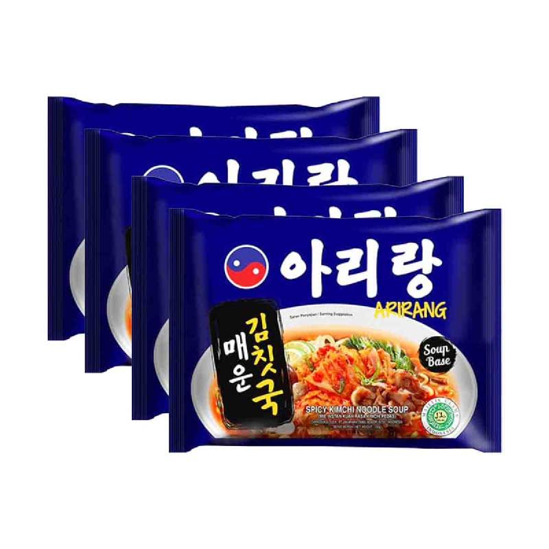 Arirang Mie Instant Mie Kimchi 120 Gr (Buy 3 Get 1)