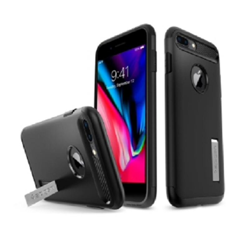 Spigen iPhone 7 Plus, 8 Plus case Slim Amor - Black