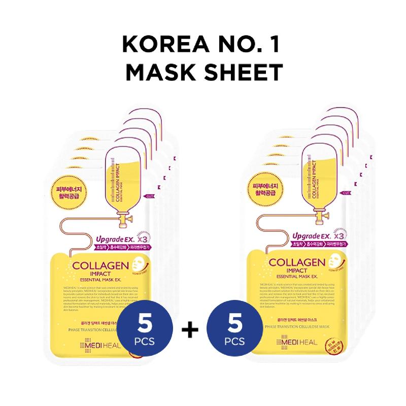 Mediheal Collagen Impact Essential Mask Ex (10pcs)