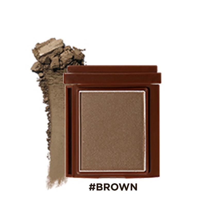 16brand Brickit Shadow Matt Line - Brown
