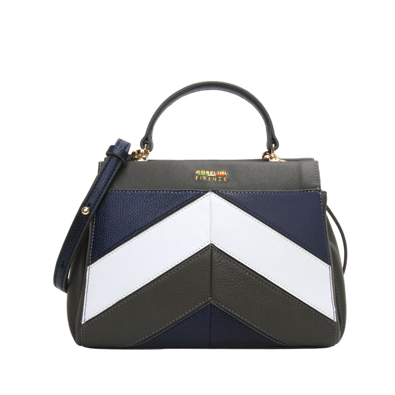 Gobelini M. Onda Crossbody Bag Charcoal Grey
