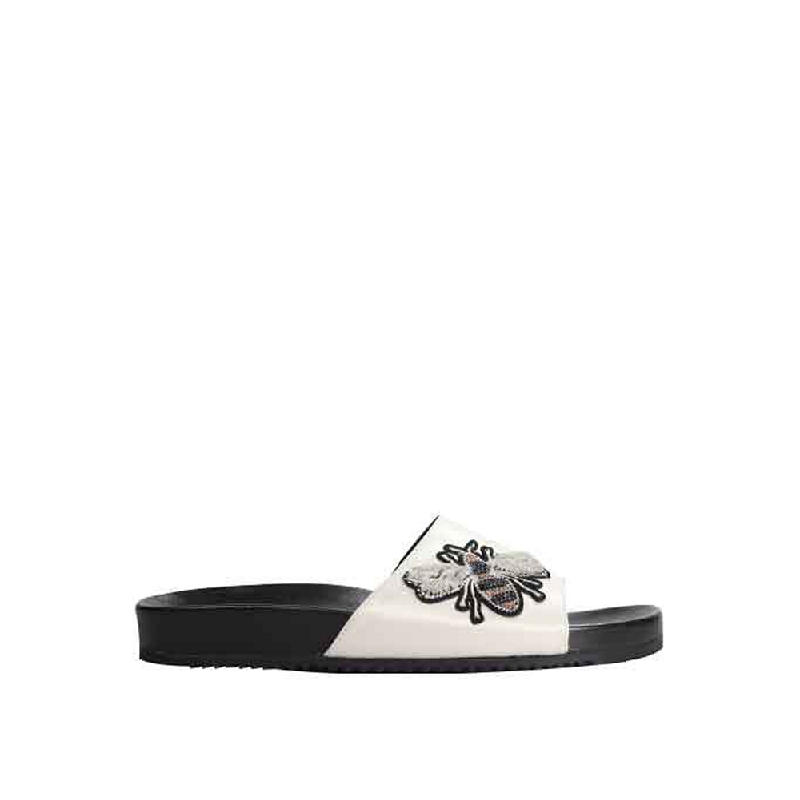 Andre Valentino Candy Sandals Beige