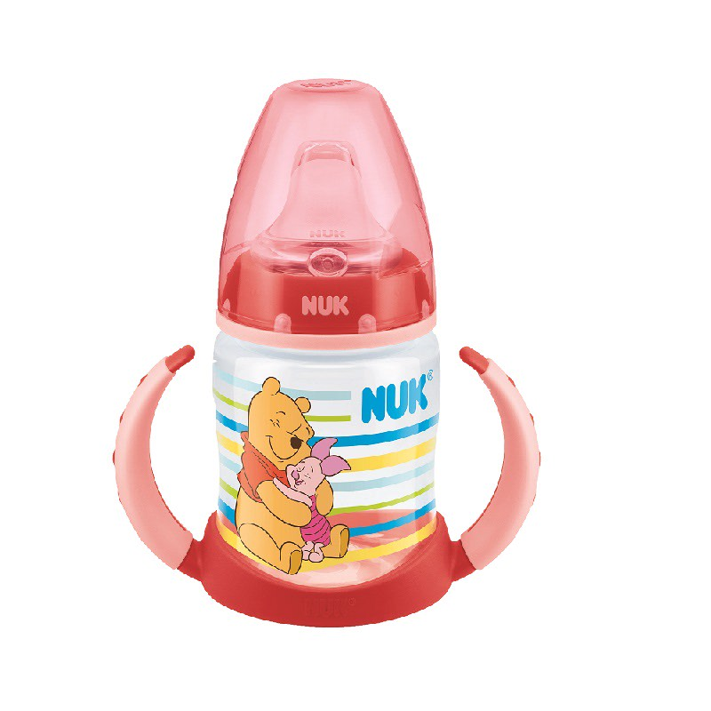 Disney Winnie The Pooh Bottle with Spout & Handle-Red
