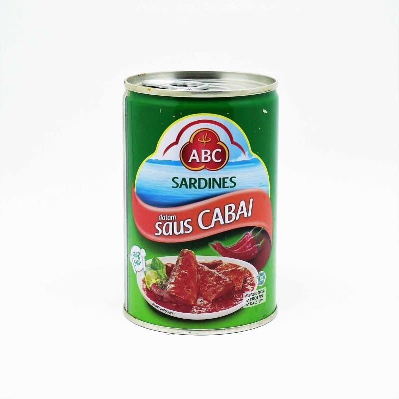 Abc Sardine Chilli 425G