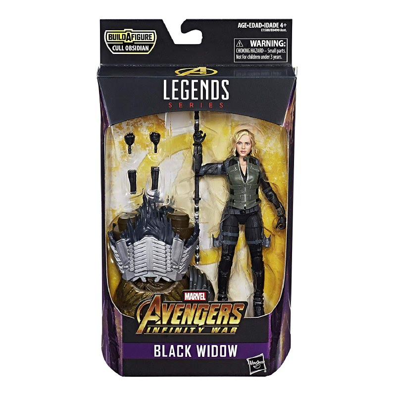 Avengers Marvel Legends Series 6-inch Black Widow AVSE1580