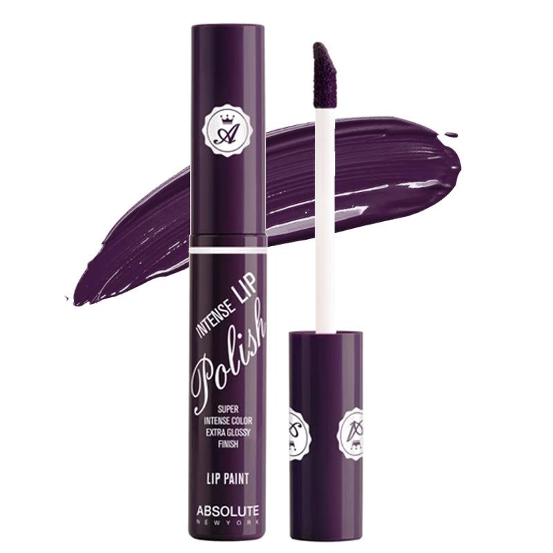 Absolute New York Intense Lip Polish Lip Paint Royal Purple