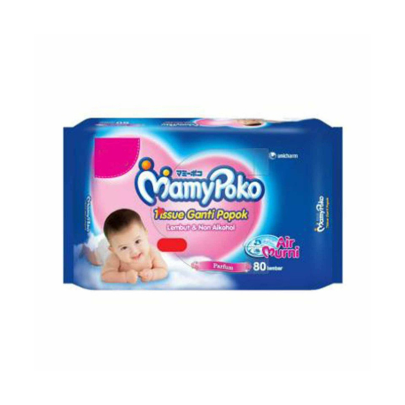Mamypoko Tisu Basah Bayi Regular Parfume 80 Sheet