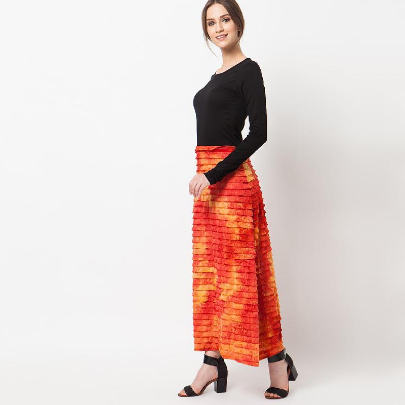 duapola Layers Cotton Combination Gamis