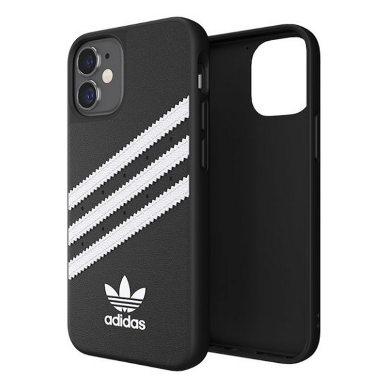 Adidas iPhone 12 Mini Samba Case - Black White 42229