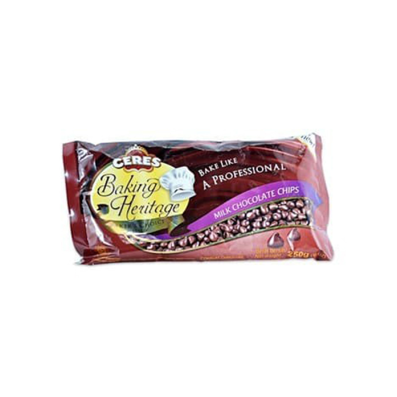 Ceres Baking Heritage Milk Chocolate 250