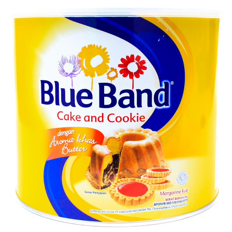 Blue Band Cake & Cookies Tin 2 Kg