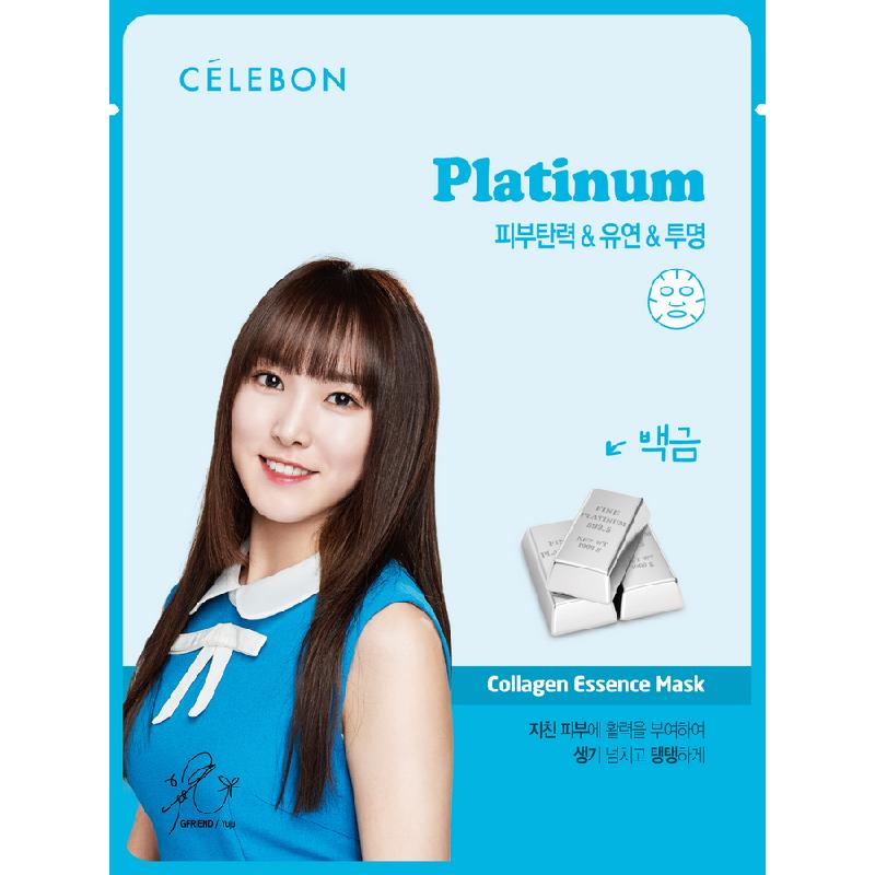Celebon Platinum Collagen Essence Mask