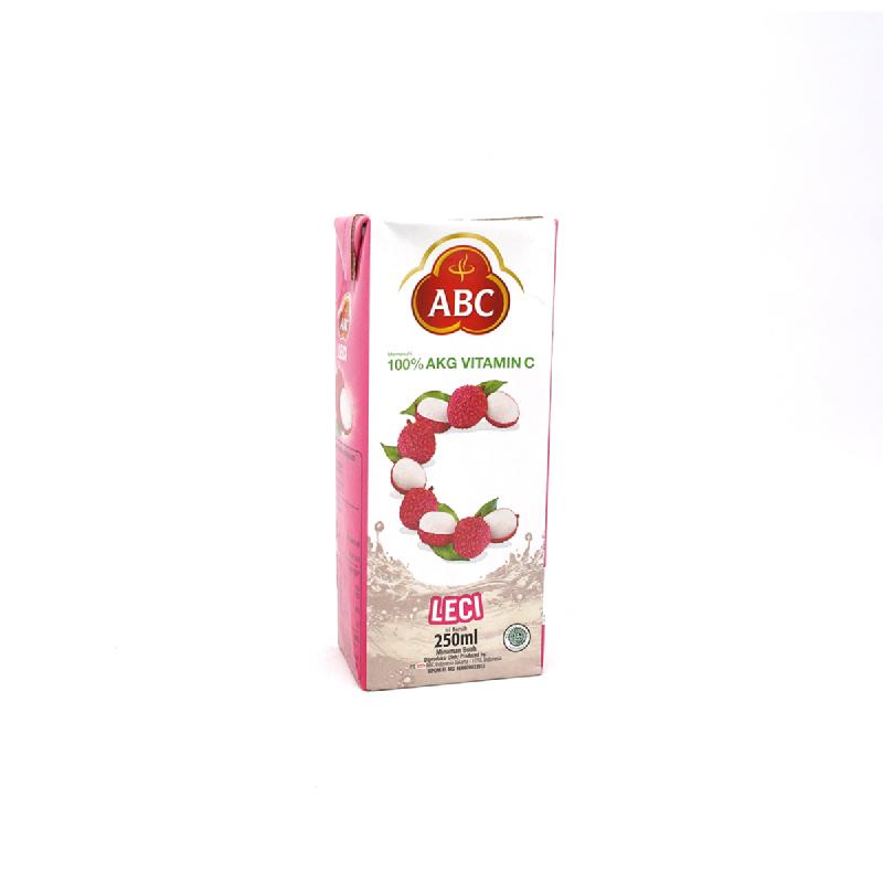 Abc Juice Lychee 250 Ml