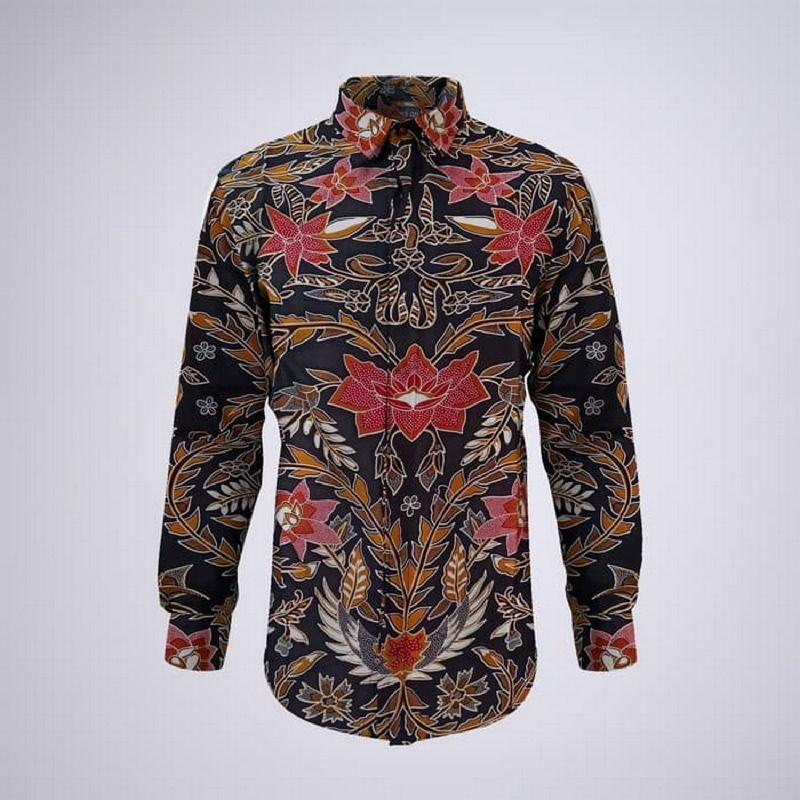 Arthesian Kemeja Batik Pria  Andreas Batik Printing