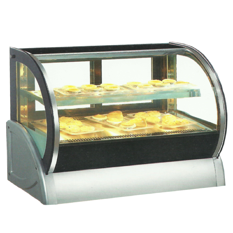 Crown Table Top Curved Pastry Showcase TCH-150