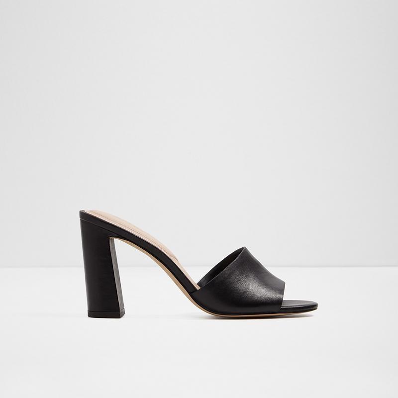 Aldo Ladies Block heels GWURKA-97-001 Black