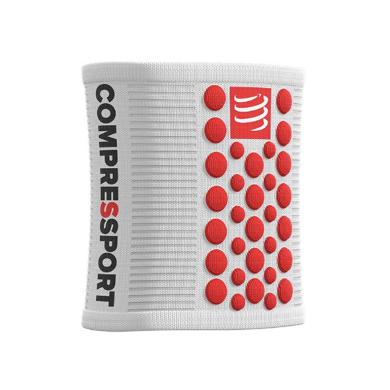 COMPRESSPORT New 3D Dots Sweat Band White