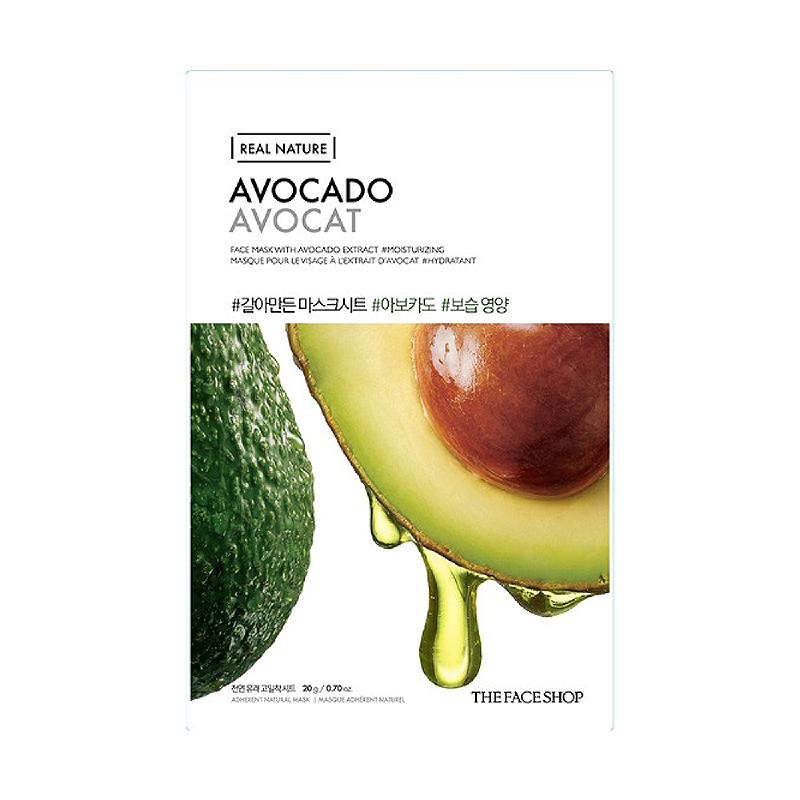 The Face Shop Real Nature Face Mask Avocado