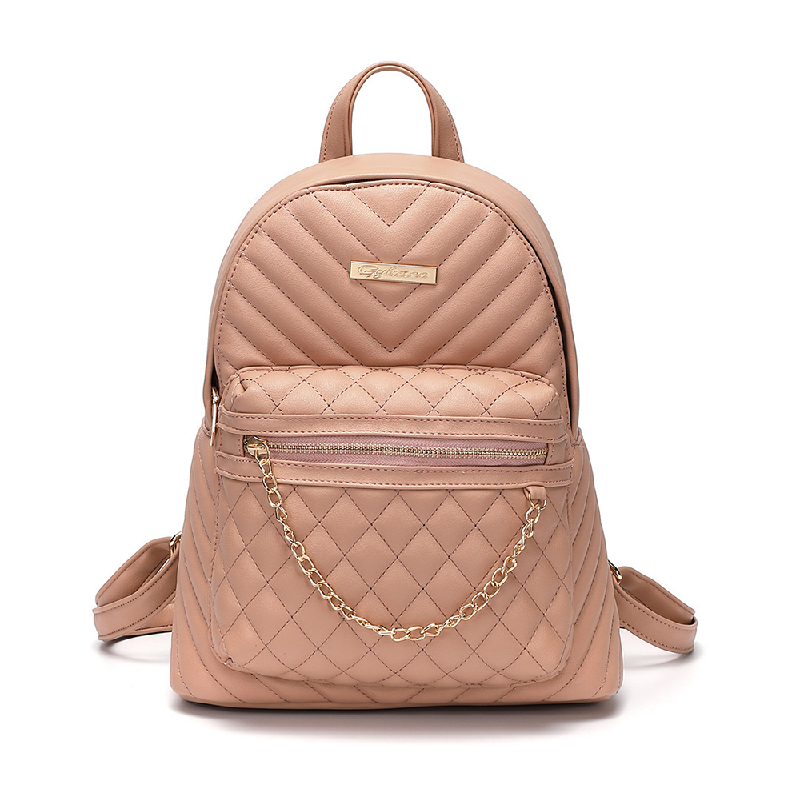 GYKACO MARTHA Pink - Tas Ransel Wanita - Fashion Backpack (Import)