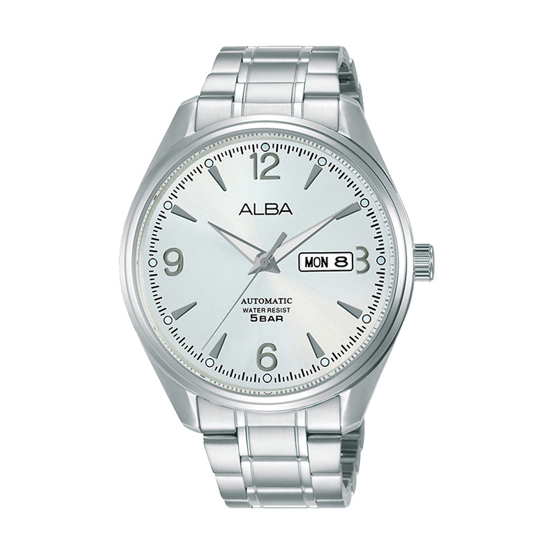 Alba AL4161X1 Silver Dial Stainless Steel Strap