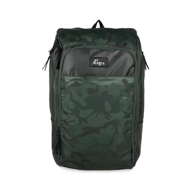Allegra Army Cooler Diaper Bag Backpack Green