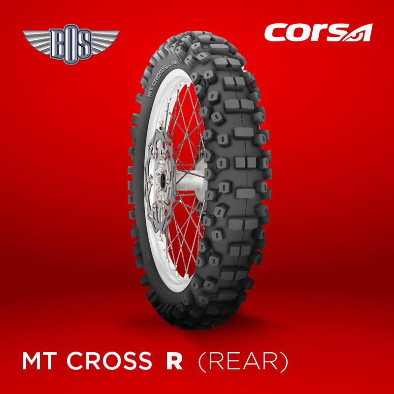 Ban Motor Corsa MT Cross-R (Rear )-100-100-18-Tubeless- GRATIS JASA PASANG