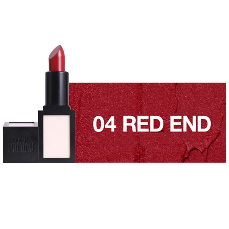 Vue De Pulang Crimson Matte Lip 04 Red End