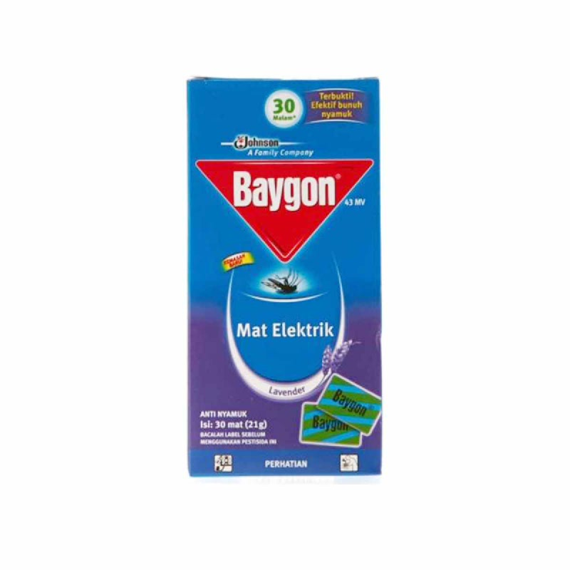 Baygon Mat Lavender 30 S