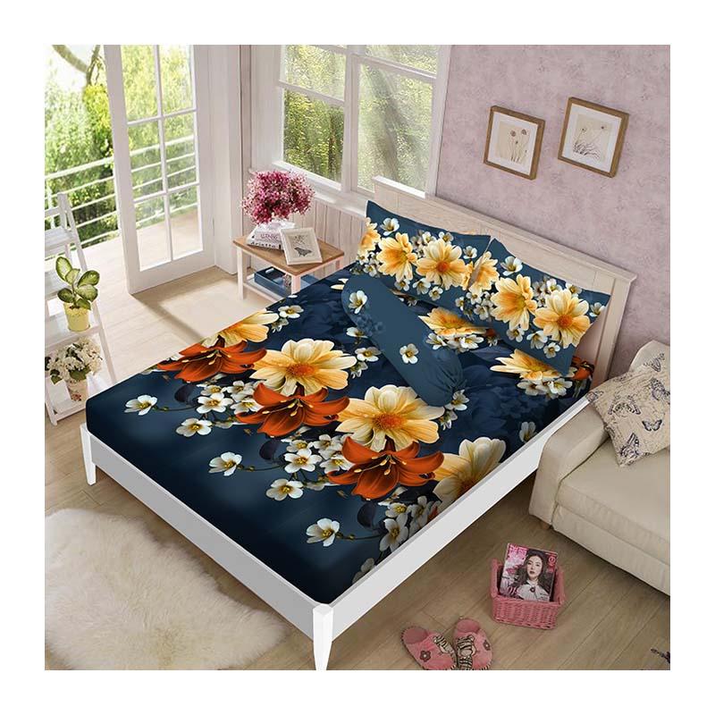 Kintakun Luxury Sprei 160 x 200 B2 Queen Spring Beauty