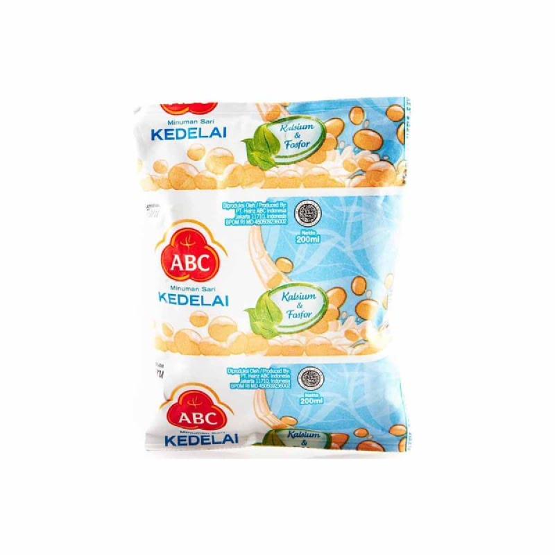 Abc Milk Soya Bantal 200 Ml