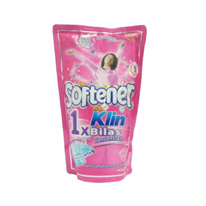 So Klin Soft 1X Bilas Pink 900Ml
