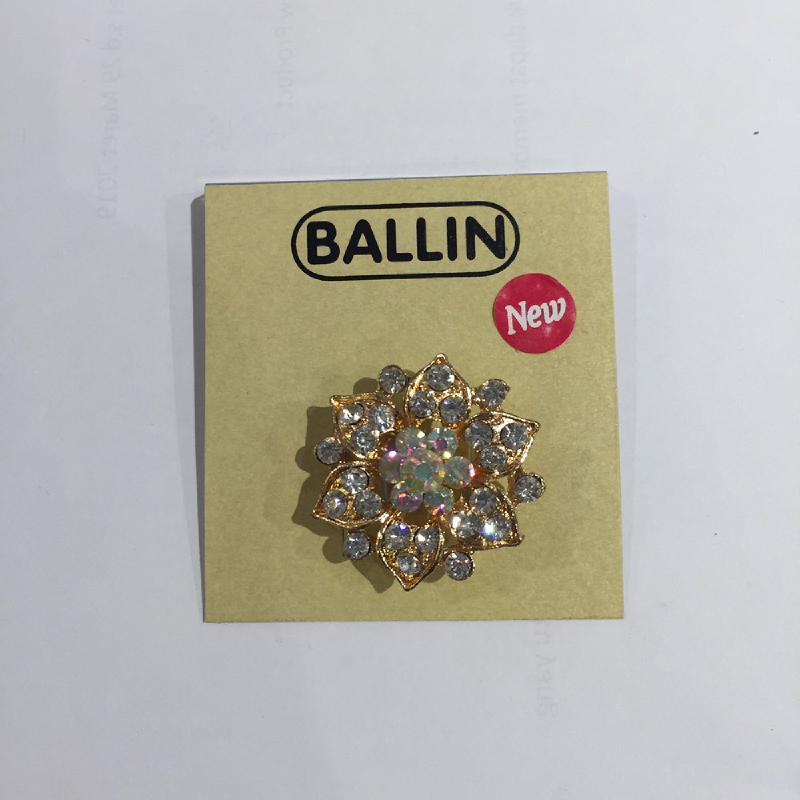 Ballin Women Brooch Flower XP-BR105 Gold