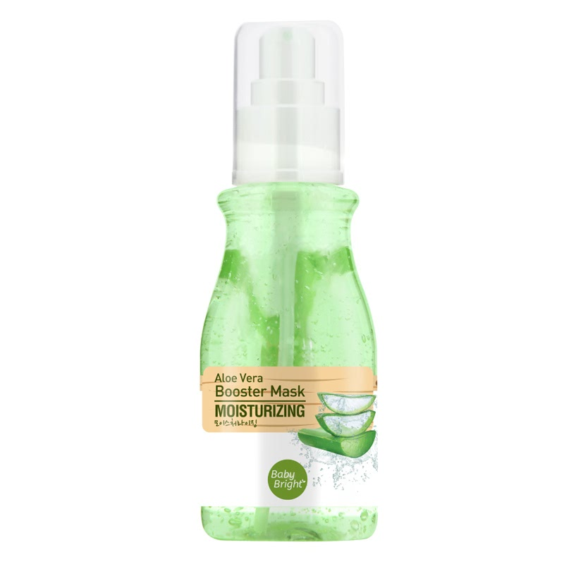 Cathy Doll Baby Bright Booster Mask 140ml - Aloe Vera