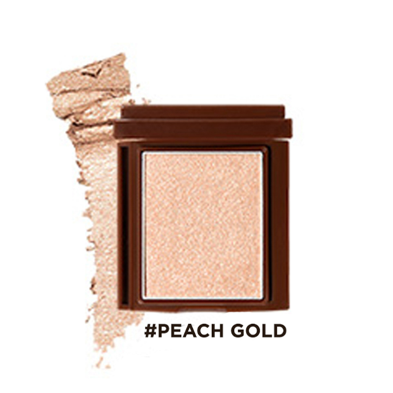 16brand Brickit Shadow Creamy Line - Peach Gold